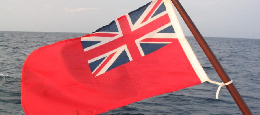 NEW One yard Flag Boat 1 yard Ship Red Ensign Flag Yacht