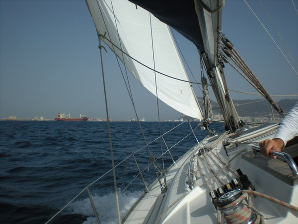 Head Sail Trimming on a Yacht